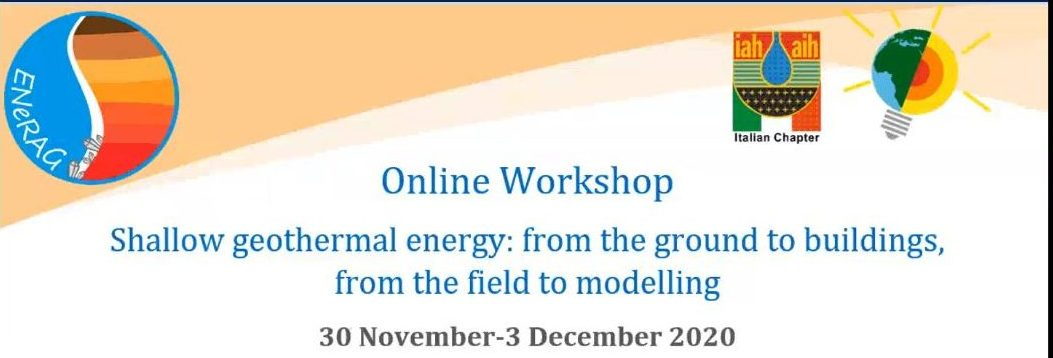 Online Workshop on Shallow geothermal energy: from the ground to buildings, from the field to modelling