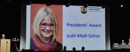 ENeRAG scientific coordinator received the IAH Presidents' Award 2021